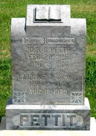 PETTIT, JOHN B. - Dundy County, Nebraska | JOHN B. PETTIT - Nebraska Gravestone Photos