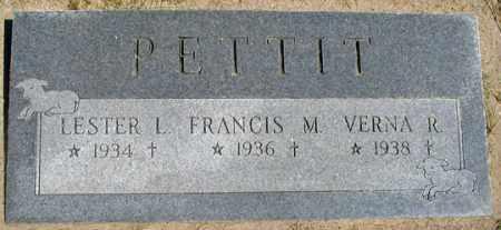 PETTIT, VERNA R. - Dundy County, Nebraska   VERNA R. PETTIT - Nebraska Gravestone Photos