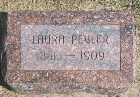 PEVLER, LAURA MAY - Dundy County, Nebraska | LAURA MAY PEVLER - Nebraska Gravestone Photos