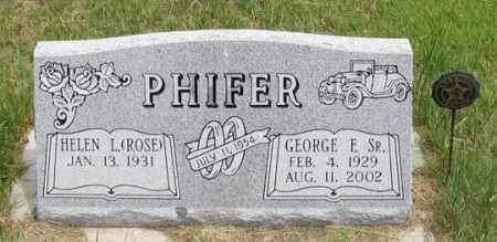 ROSE PHIFER, HELEN L. - Dundy County, Nebraska | HELEN L. ROSE PHIFER - Nebraska Gravestone Photos