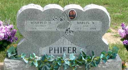 PHIFER, WINIFRED - Dundy County, Nebraska | WINIFRED PHIFER - Nebraska Gravestone Photos