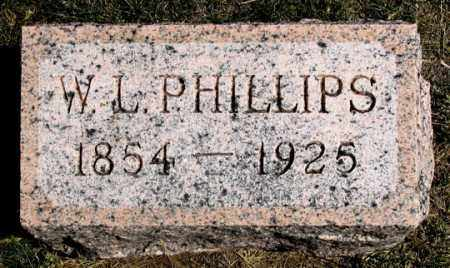 PHILLIPS, W. L. - Dundy County, Nebraska | W. L. PHILLIPS - Nebraska Gravestone Photos