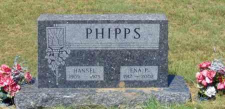 PHIPPS, ENA P. - Dundy County, Nebraska | ENA P. PHIPPS - Nebraska Gravestone Photos