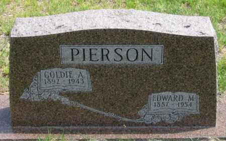 MCDONALD PIERSON, GOLDIE A. - Dundy County, Nebraska | GOLDIE A. MCDONALD PIERSON - Nebraska Gravestone Photos