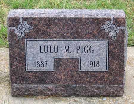 MILLER PIGG, LULU M. - Dundy County, Nebraska | LULU M. MILLER PIGG - Nebraska Gravestone Photos