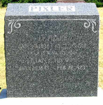 PIXLER, JAMES P. - Dundy County, Nebraska | JAMES P. PIXLER - Nebraska Gravestone Photos