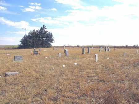 *PLEASANT VALLEY CEMETERY, VIEW - Dundy County, Nebraska | VIEW *PLEASANT VALLEY CEMETERY - Nebraska Gravestone Photos