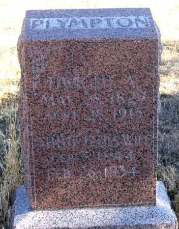 PLYMPTON, ABBIE H. - Dundy County, Nebraska   ABBIE H. PLYMPTON - Nebraska Gravestone Photos