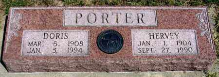 "PORTER, ROBERT ""HERVEY"" - Dundy County, Nebraska 