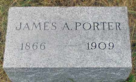 PORTER, JAMES ALBERT - Dundy County, Nebraska | JAMES ALBERT PORTER - Nebraska Gravestone Photos