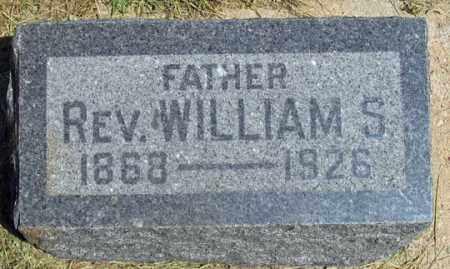 PORTER, WILLIAM S., REV. - Dundy County, Nebraska | WILLIAM S., REV. PORTER - Nebraska Gravestone Photos