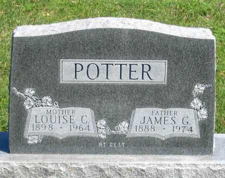 POTTER, LOUISE C. - Dundy County, Nebraska | LOUISE C. POTTER - Nebraska Gravestone Photos