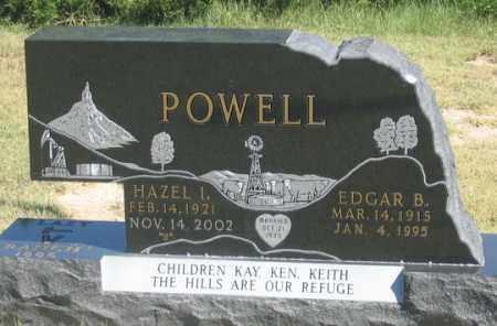 BARTLETT POWELL, HAZEL I. - Dundy County, Nebraska | HAZEL I. BARTLETT POWELL - Nebraska Gravestone Photos