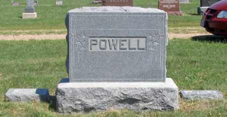 POWELL, JAMES E. FAMILY GRAVE SITE - Dundy County, Nebraska   JAMES E. FAMILY GRAVE SITE POWELL - Nebraska Gravestone Photos