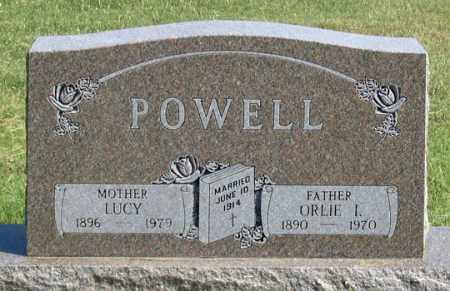 POWELL, ORLIE I. - Dundy County, Nebraska | ORLIE I. POWELL - Nebraska Gravestone Photos