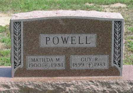 POWELL, MATILDA M. - Dundy County, Nebraska | MATILDA M. POWELL - Nebraska Gravestone Photos