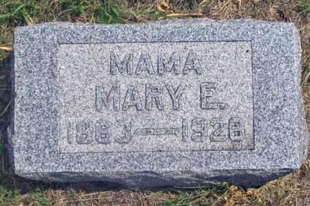 POWELL, MARY E. - Dundy County, Nebraska | MARY E. POWELL - Nebraska Gravestone Photos
