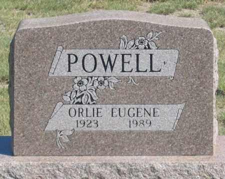 POWELL, ORLIE EUGENE - Dundy County, Nebraska | ORLIE EUGENE POWELL - Nebraska Gravestone Photos