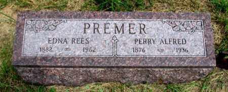 PREMER, EDNA REES - Dundy County, Nebraska | EDNA REES PREMER - Nebraska Gravestone Photos
