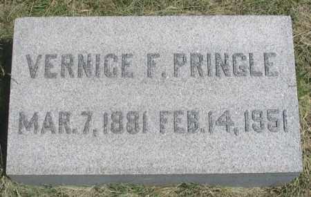 PRINGLE, VERNICE F. - Dundy County, Nebraska   VERNICE F. PRINGLE - Nebraska Gravestone Photos