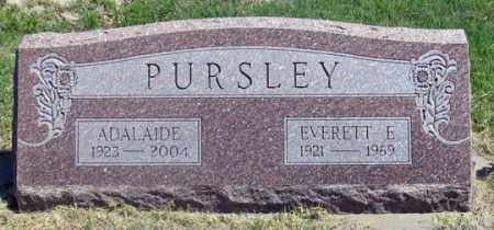 PURSLEY, EVERETT E. - Dundy County, Nebraska | EVERETT E. PURSLEY - Nebraska Gravestone Photos