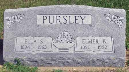 OSBORN PURSLEY, ELLA S. - Dundy County, Nebraska | ELLA S. OSBORN PURSLEY - Nebraska Gravestone Photos