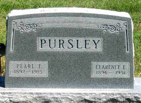 OSBORNE PURSLEY, PEARL F. - Dundy County, Nebraska | PEARL F. OSBORNE PURSLEY - Nebraska Gravestone Photos