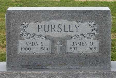 STEWARD PURSLEY, VADA S. - Dundy County, Nebraska   VADA S. STEWARD PURSLEY - Nebraska Gravestone Photos