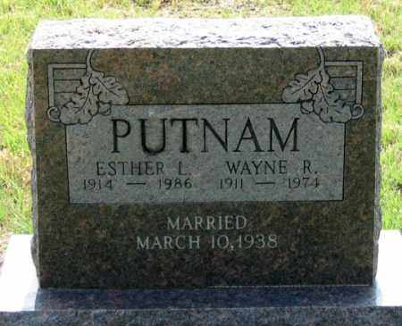 WILLIAMS PUTNAM, ESTHER L. - Dundy County, Nebraska | ESTHER L. WILLIAMS PUTNAM - Nebraska Gravestone Photos