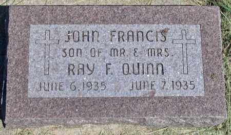 QUINN, JOHN FRANCIS - Dundy County, Nebraska | JOHN FRANCIS QUINN - Nebraska Gravestone Photos