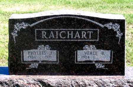 RAICHART, PHYLLIS J. - Dundy County, Nebraska | PHYLLIS J. RAICHART - Nebraska Gravestone Photos