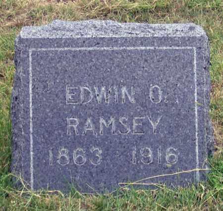 RAMSEY, EDWIN O. - Dundy County, Nebraska | EDWIN O. RAMSEY - Nebraska Gravestone Photos