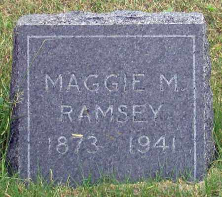 HOWELL RAMSEY, MAGGIE MAY - Dundy County, Nebraska | MAGGIE MAY HOWELL RAMSEY - Nebraska Gravestone Photos