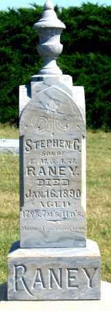 RANEY, STEPHEN G. - Dundy County, Nebraska | STEPHEN G. RANEY - Nebraska Gravestone Photos