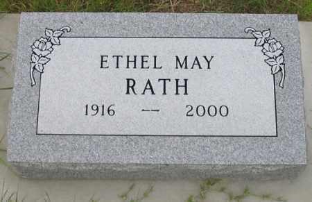 RATH, ETHEL MAY - Dundy County, Nebraska | ETHEL MAY RATH - Nebraska Gravestone Photos