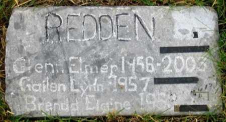 REDDEN, GAILEN LYNN - Dundy County, Nebraska   GAILEN LYNN REDDEN - Nebraska Gravestone Photos