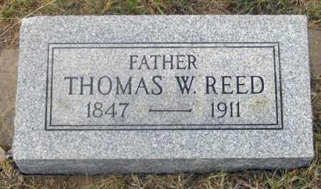 REED, THOMAS W. - Dundy County, Nebraska | THOMAS W. REED - Nebraska Gravestone Photos