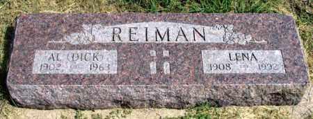 REIMAN, LENA A. - Dundy County, Nebraska   LENA A. REIMAN - Nebraska Gravestone Photos