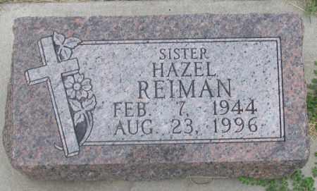 REIMAN, HAZEL M. - Dundy County, Nebraska | HAZEL M. REIMAN - Nebraska Gravestone Photos