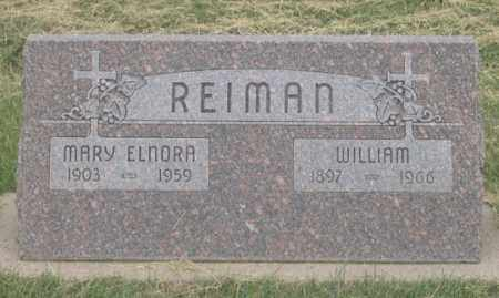 HEILERS REIMAN, MARY ELNORA - Dundy County, Nebraska | MARY ELNORA HEILERS REIMAN - Nebraska Gravestone Photos