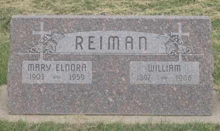 REIMAN, MARY ELNORA - Dundy County, Nebraska | MARY ELNORA REIMAN - Nebraska Gravestone Photos