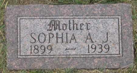 REINING REIMAN, SOPHIA A. J. - Dundy County, Nebraska   SOPHIA A. J. REINING REIMAN - Nebraska Gravestone Photos