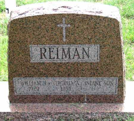 REIMAN, WILLIAM - Dundy County, Nebraska | WILLIAM REIMAN - Nebraska Gravestone Photos