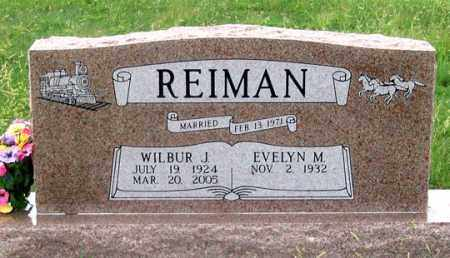 REIMAN, EVELYN M. - Dundy County, Nebraska | EVELYN M. REIMAN - Nebraska Gravestone Photos