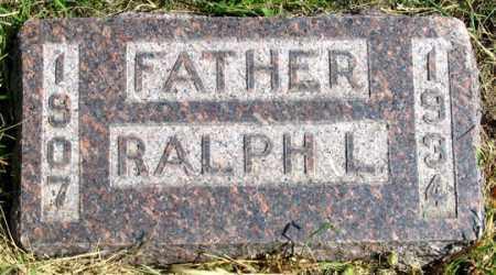 REIMER, RALPH L. - Dundy County, Nebraska | RALPH L. REIMER - Nebraska Gravestone Photos