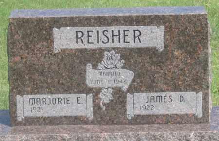 REISHER, MARJORIE E. - Dundy County, Nebraska | MARJORIE E. REISHER - Nebraska Gravestone Photos