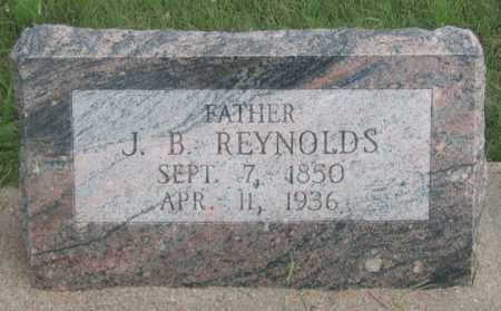 REYNOLDS, JOSIAH BEVERAGE - Dundy County, Nebraska | JOSIAH BEVERAGE REYNOLDS - Nebraska Gravestone Photos