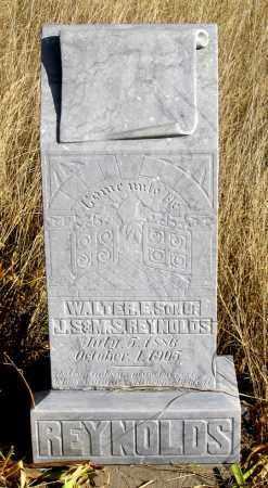 REYNOLDS, WALTER E. - Dundy County, Nebraska   WALTER E. REYNOLDS - Nebraska Gravestone Photos