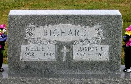 PENN RICHARD, NELLIE M. - Dundy County, Nebraska | NELLIE M. PENN RICHARD - Nebraska Gravestone Photos