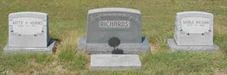RICHARDS, FAMILY GROUP - Dundy County, Nebraska | FAMILY GROUP RICHARDS - Nebraska Gravestone Photos